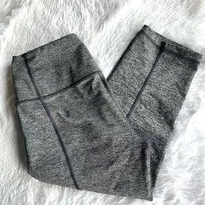 Victoria secret knockout grey Capri crop legging